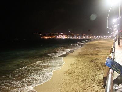 Playa en Las Palmas de Gran Canaria (2014) |  ©  I. U. T. /M'Sur
