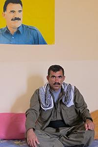 'Heval' Agid, comandante del PKK en Kirkuk (2014) | ©  Karlos Zurutuza