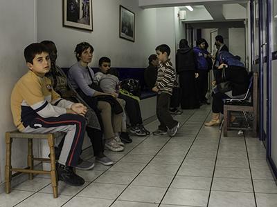 Clínica social de Médicos del Mundo en Atenas (2014) | © Clara Palma