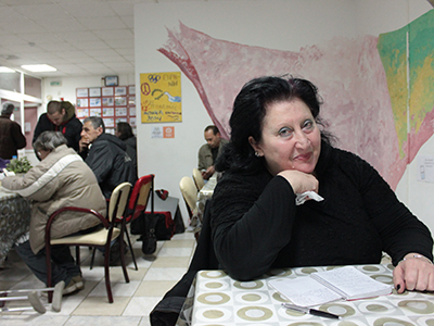 Comedor social en Pireo; Grecia (Enero 2015) | ©  Daniel Iriarte