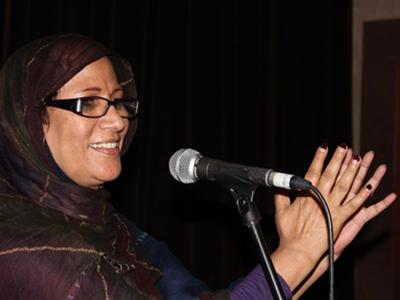Mariem Hassan (Valencia, 2011)  |    © J. Pérez de la Cruz