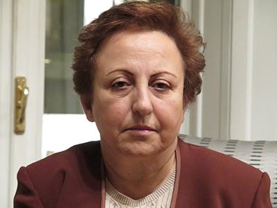 Shirin Ebadi (Roma, 2014) |  © Darío Menor