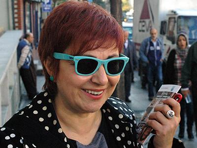 Buket Uzuner (Estambul, Nov 2010)   © Ilya U. Topper / M'Sur