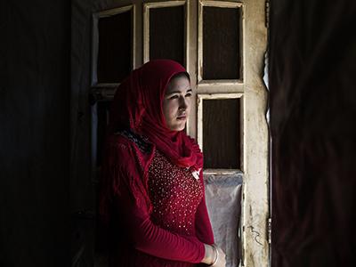 Basma (15 años), siria casada a la fuerza en Líbano (2015) | ©  Diego Ibarra