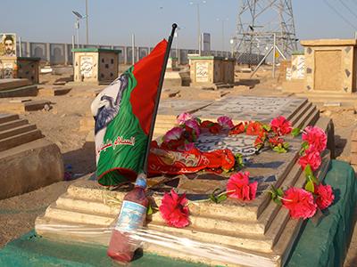Cementerio chií de Nayaf,  Iraq (2011) |  ©  Karlos Zurutuza