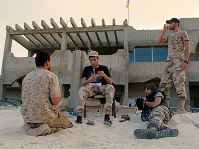 Milicias amazigh en Zuara, Libia (Nov 2014) | © Karlos Zurutuza