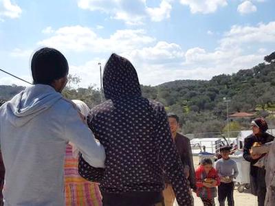 Refugiados en la isla de Lesbos (2016) | © Lluís Miquel Hurtado