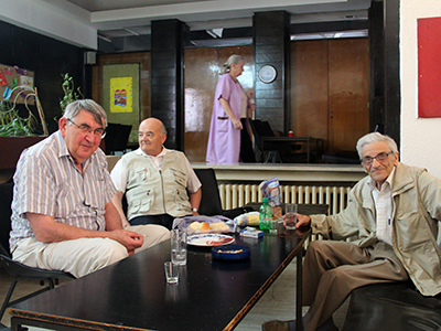 Ancianos sefardíes en Sarajevo (Ago 2015) | © Ilya U. Topper / M'Sur