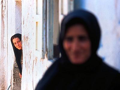 Mujeres en Gaza (2001) | © Rafael Marchante