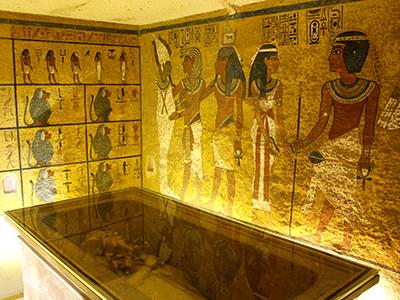La tumba de Tutankamón en Luxor (2016) | © Alicia Alamillos