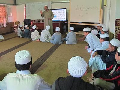 Colegio ibadí en Nalut, Libia (2015) | © Karlos Zurutuza