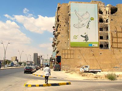 Calle en Misrata (Sep 2016) | © Karlos Zurutuza