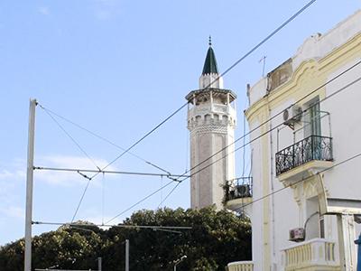 Minarete en Túnez capital (2017) | © Alicia Alamillos