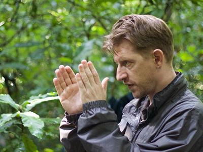 Jonathan Littell durante el rodaje de Wrong Elements | Imagen promocional