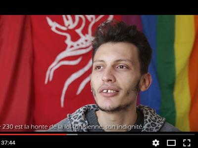 Fotograma del documental 'Au pays de la démocratie naissante' de la asociación Shams.