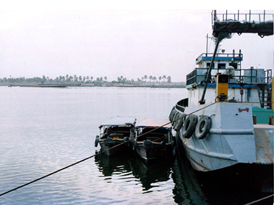 Orilla del Shatt-al-arab en Basora (Nov 2003) | © Ilya U. Topper