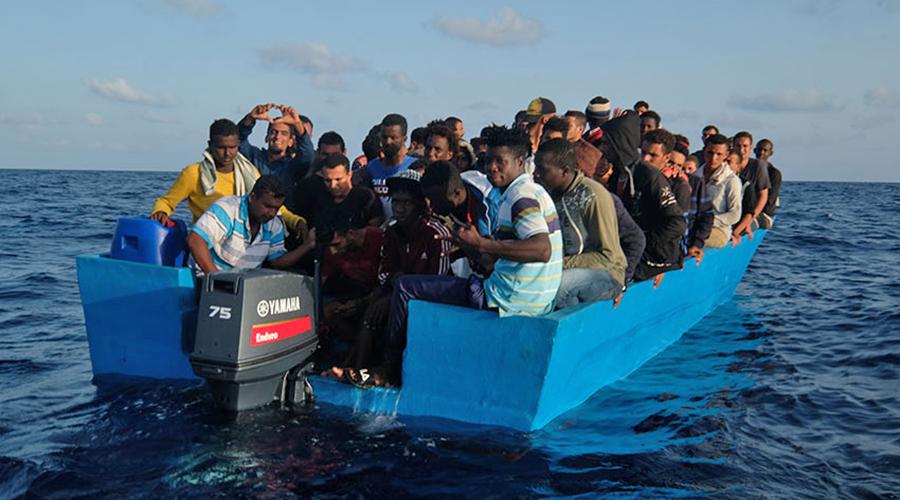 migrantes barca