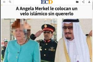El pelo de Merkel