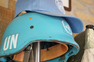 Traumas bajo el casco azul